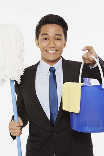 Cleaning business in Philippines