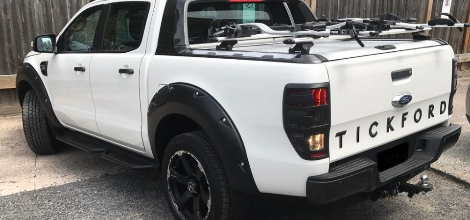 Towing Bar Options for Ford Ranger